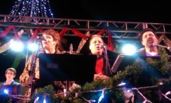 Christmas Carolling in Jackson Square, December 20, 2015