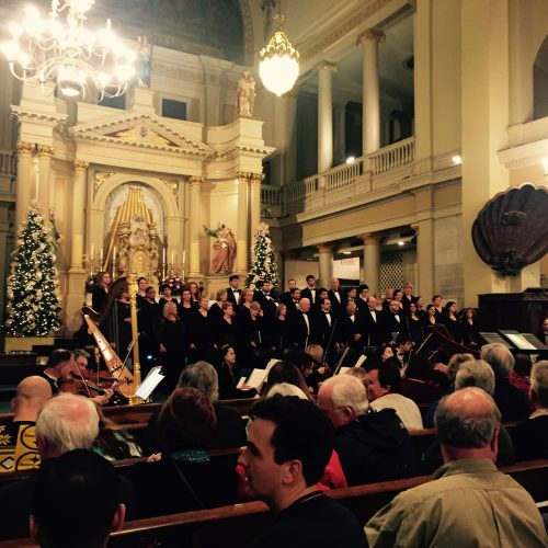 St. Louis Cathedral Choir Concert, December 20, 2015 Photo Gallery