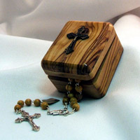Rosary in classic box