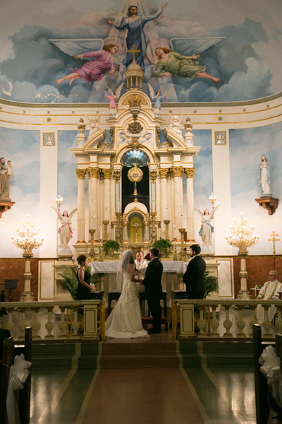 Wedding at St. Mary's Church